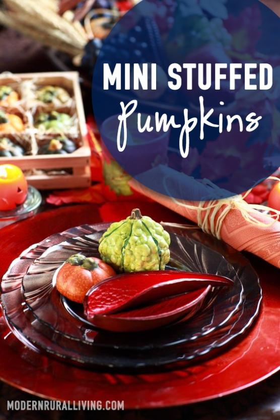 MiniStuffedPumpkins